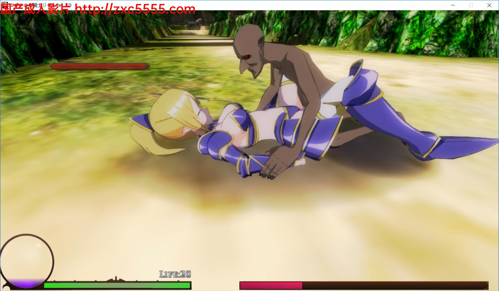 【女骑士】精灵骑士吉赛尔 エルフの騎士ジゼル【ACT/全动态/3D/3.75G】